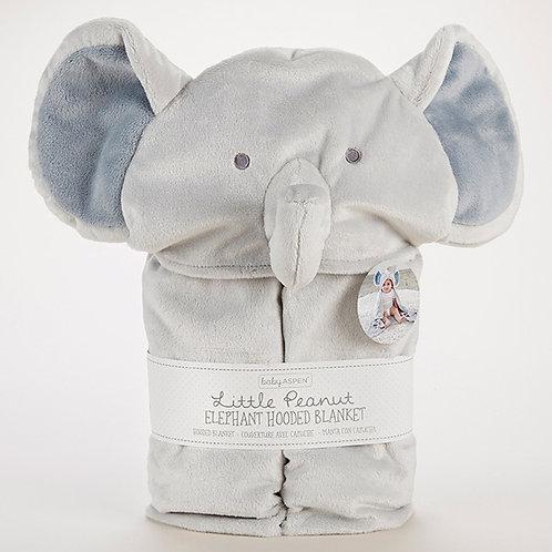 Little Peanut Elephant Hooded Blanket by Baby Aspen