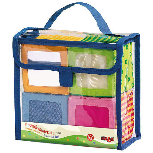 HABA Happy Quartett soft block set