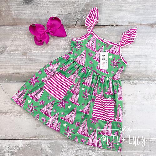 Summer Sailing Collection, Girls Dress