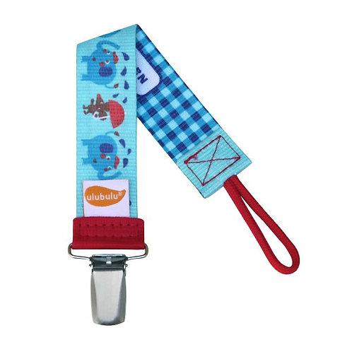 Elephant Showers Pacifier Clip