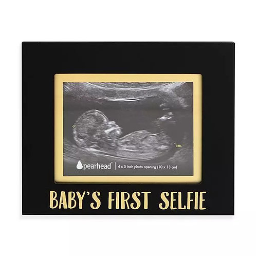 Baby's First Selfie Sonogram Picture Frame