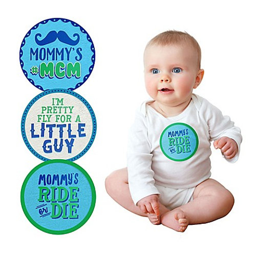 Baby Boy Belly Stickers