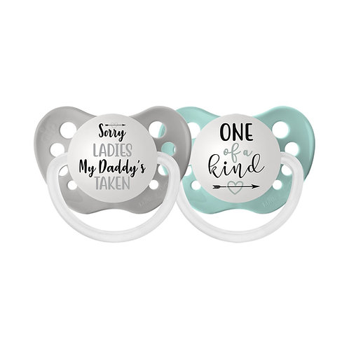 Sorry Ladies My Daddy's Taken / One of a Kind Pacifier Set