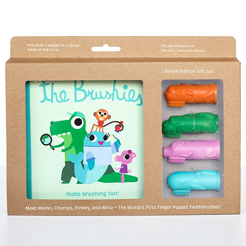The Brushies Gift Set, full set
