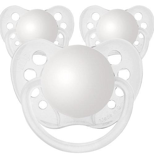 Baby Name Pacifiers - 3 Pk Grey, Ulubulu, Personalized Pacifiers