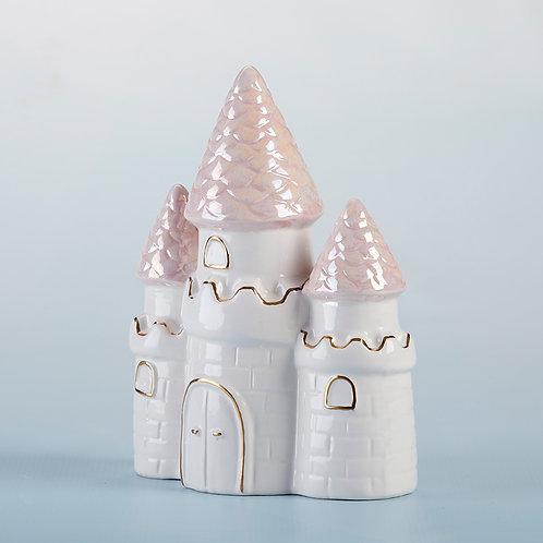 Princess Castle Ceramic Coin Bank by Baby Aspen