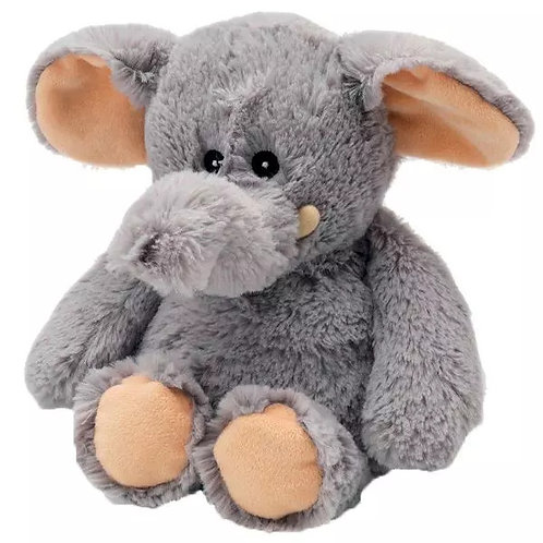 Bedtime, nap time, or cuddle time has never been cozier with Warmies® cozy plush elephant! The 13'' elephant is French-lavend