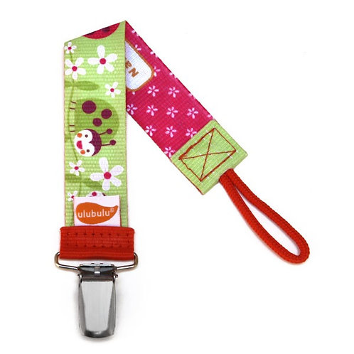 Lady Bug Pacifier Clip