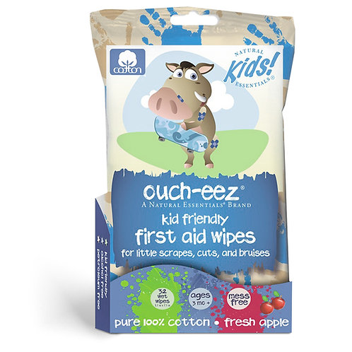 Ouch-eez first aid wipes