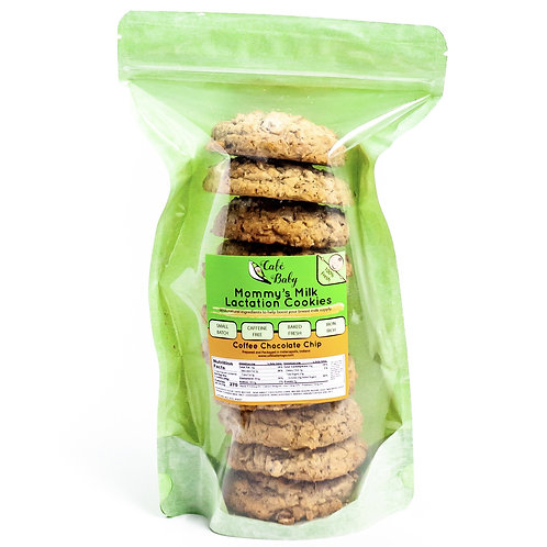 Mommy's Milk Lactation Cookies - Coffee Chocolate Chip