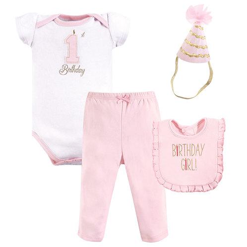 Hudson Baby First Birthday Outfit, Birthday Girl