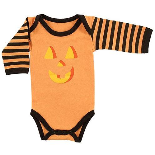 Long Sleeve Pumpkin Bodysuit