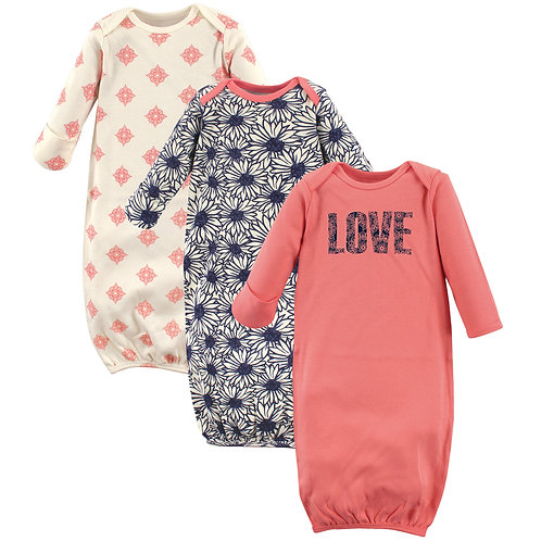 Touched by Nature Organic Cotton Gown for baby