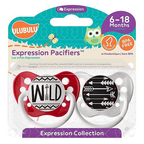 Wild Pacifier and Arrow Pacifier Set by Ulubulu