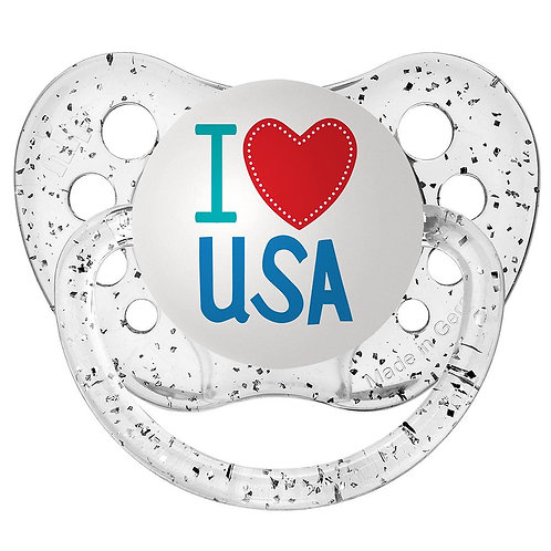 I love USA pacifier