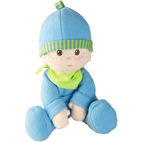 HABA Luis Snug-Up doll blue