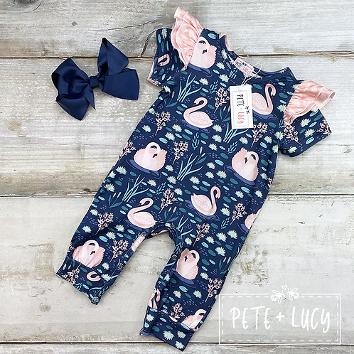 Swan Lake Romper by Pete + Lucy