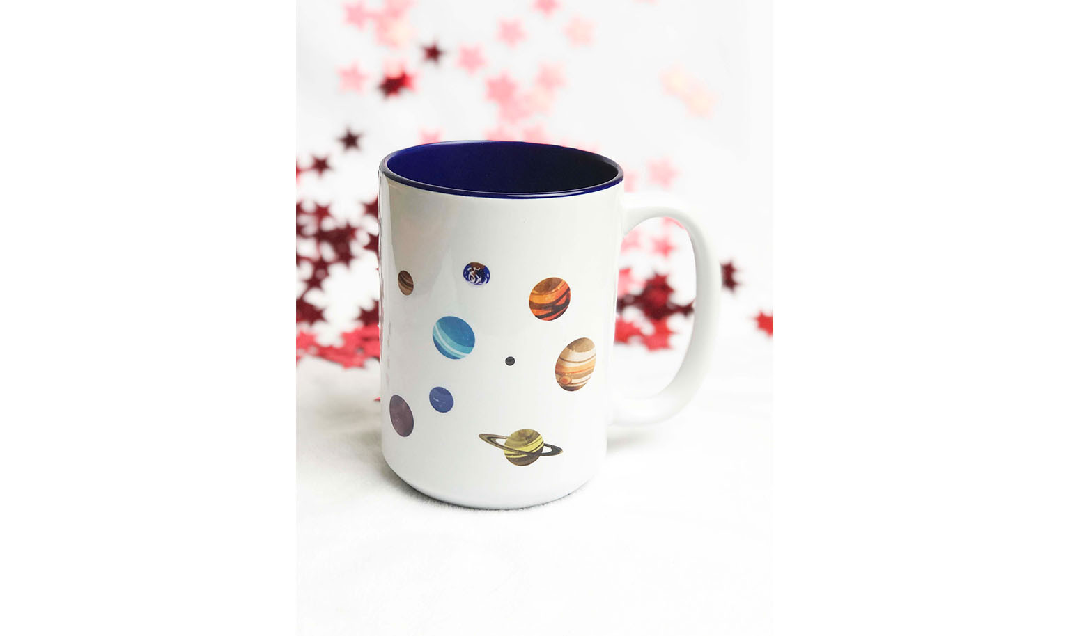 Outer Space Corgi Mug