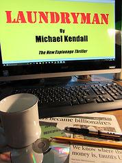 Laundryman book cover