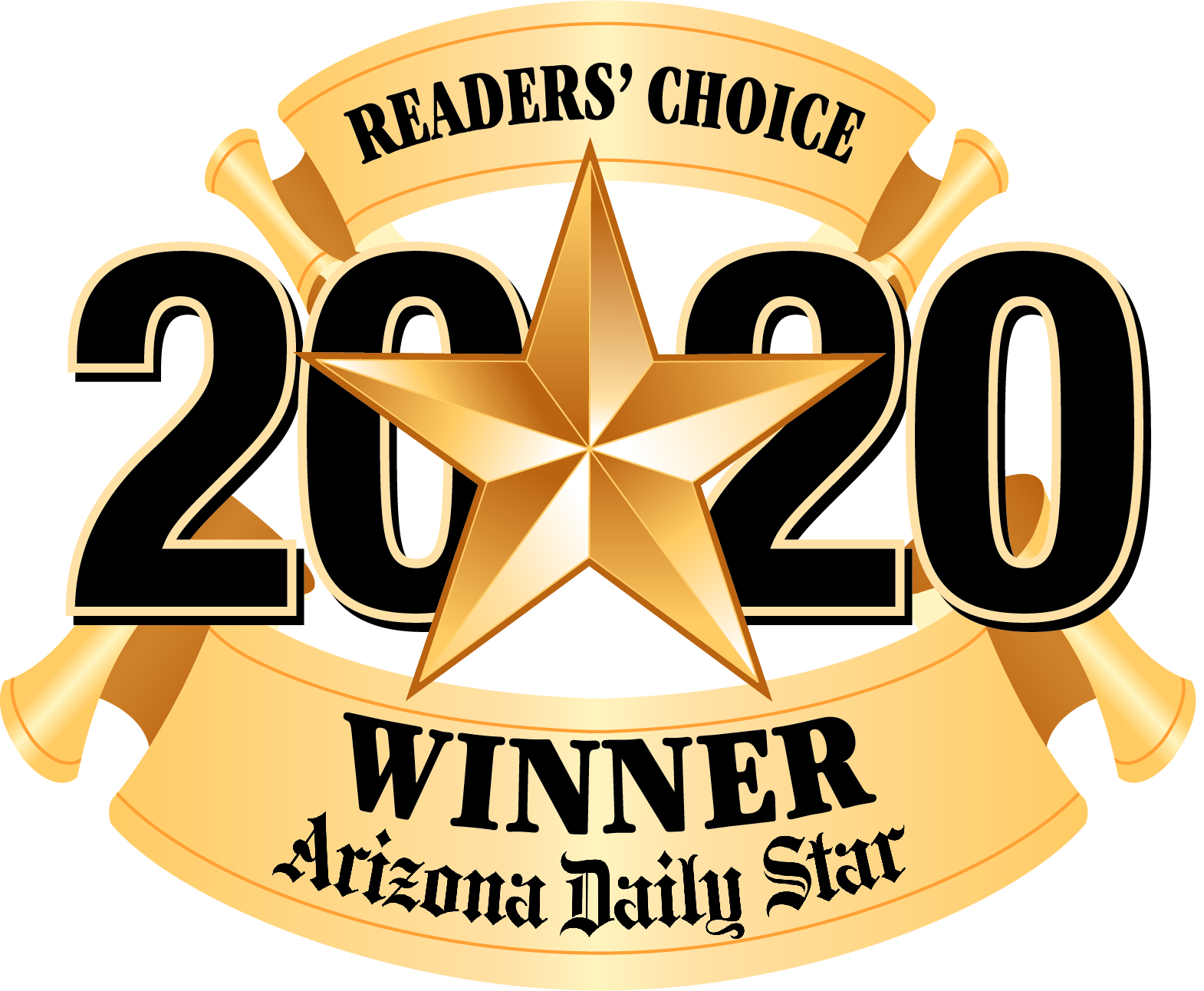 2020 Readers Choice Winner logo