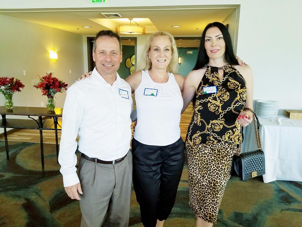 Milenia Nazaret Premier Brokers International and Ray Carrano