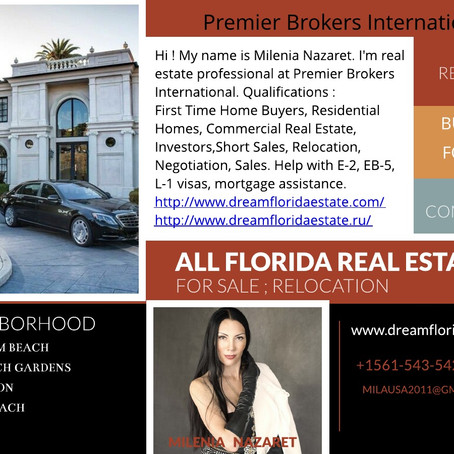 Real Estate in Florida for you: Welcome to South Florida!!
