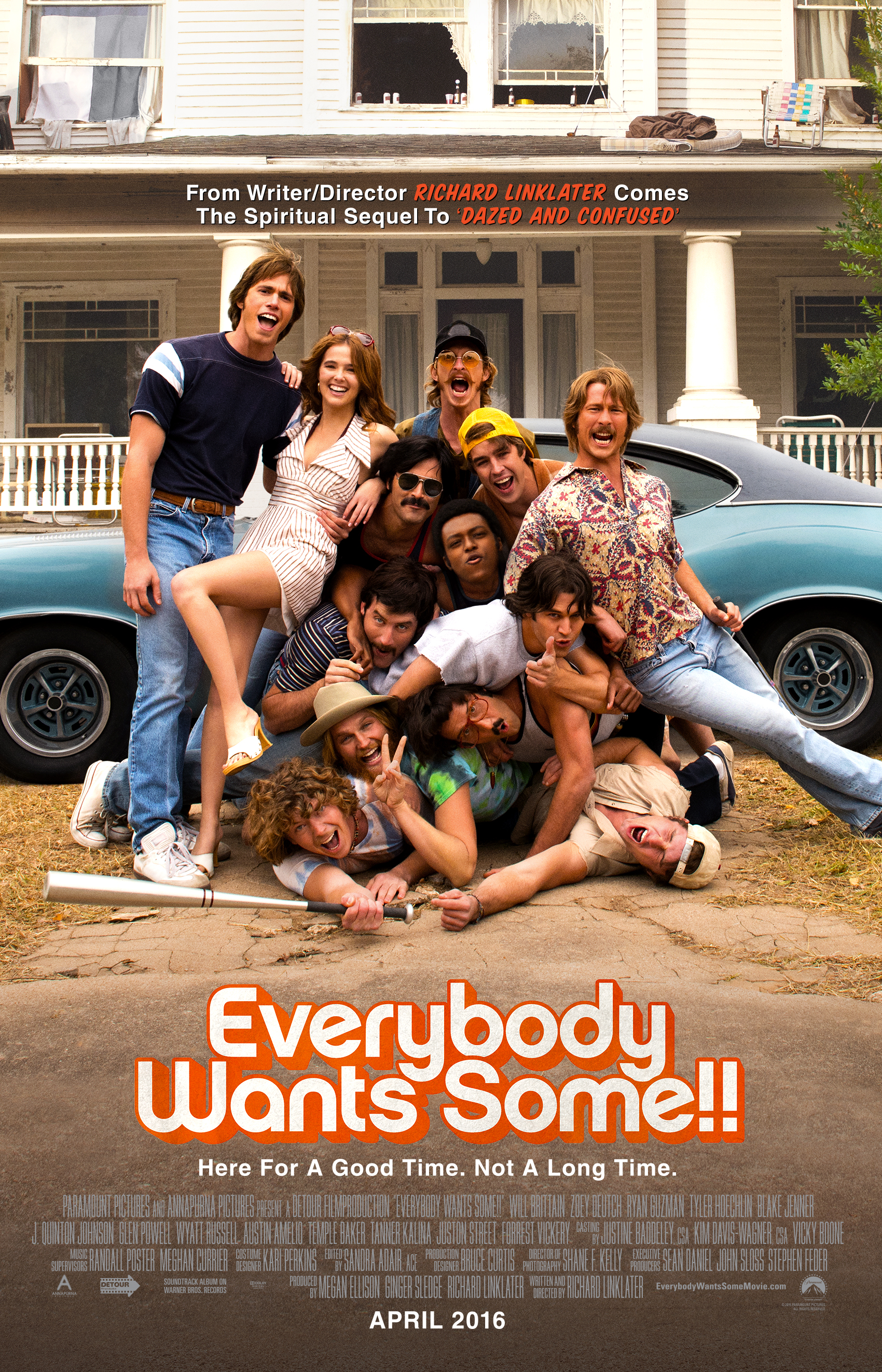 lanier movie reviews richard linkater writer and director of everybody wants some understands this the film follows college freshman