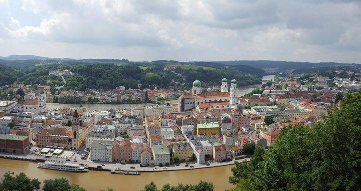 Passau again