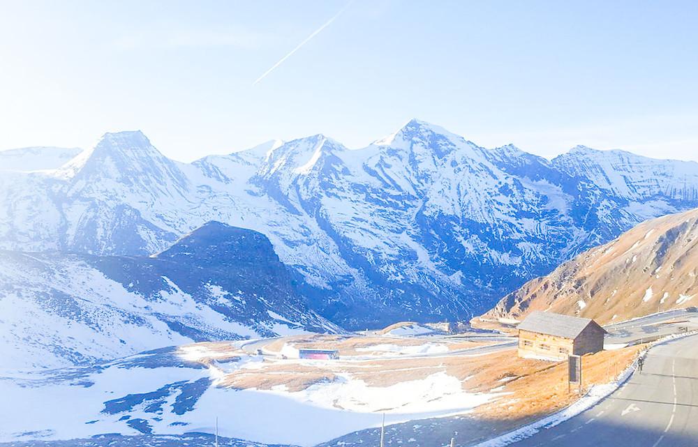 Stunning Mountain Ridge on top of Grossglockner