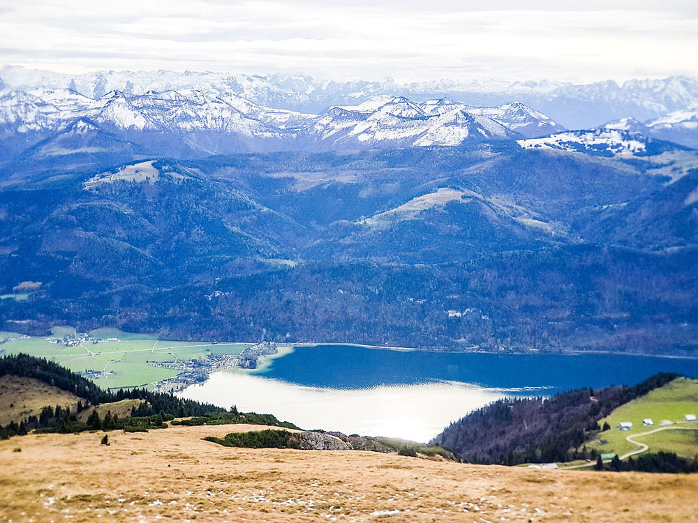 View from Schafberg