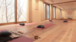 Yoga room Saas-Fee