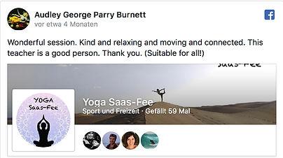 Yoga Saas-Fee