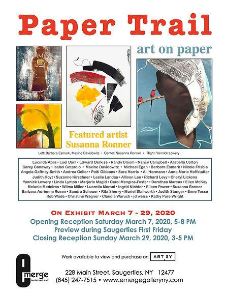 Emerge Gallery_Paper Trail_flier_March 2