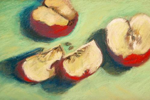 """Red Apples"" Elaine Ralston"