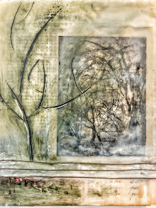 """Time/Erased"" Mary Ann Glass"