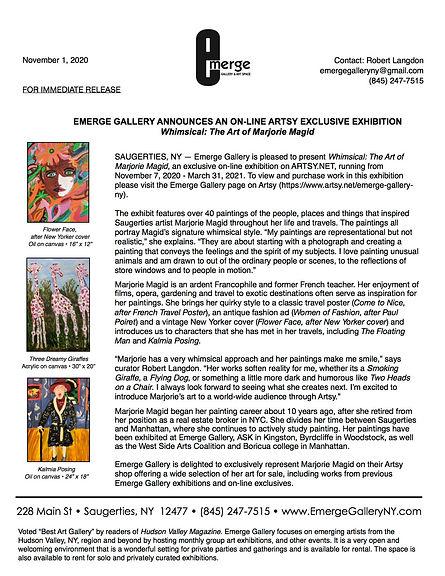 Emerge Gallery_MAGID_Artsy exclusive_Pre