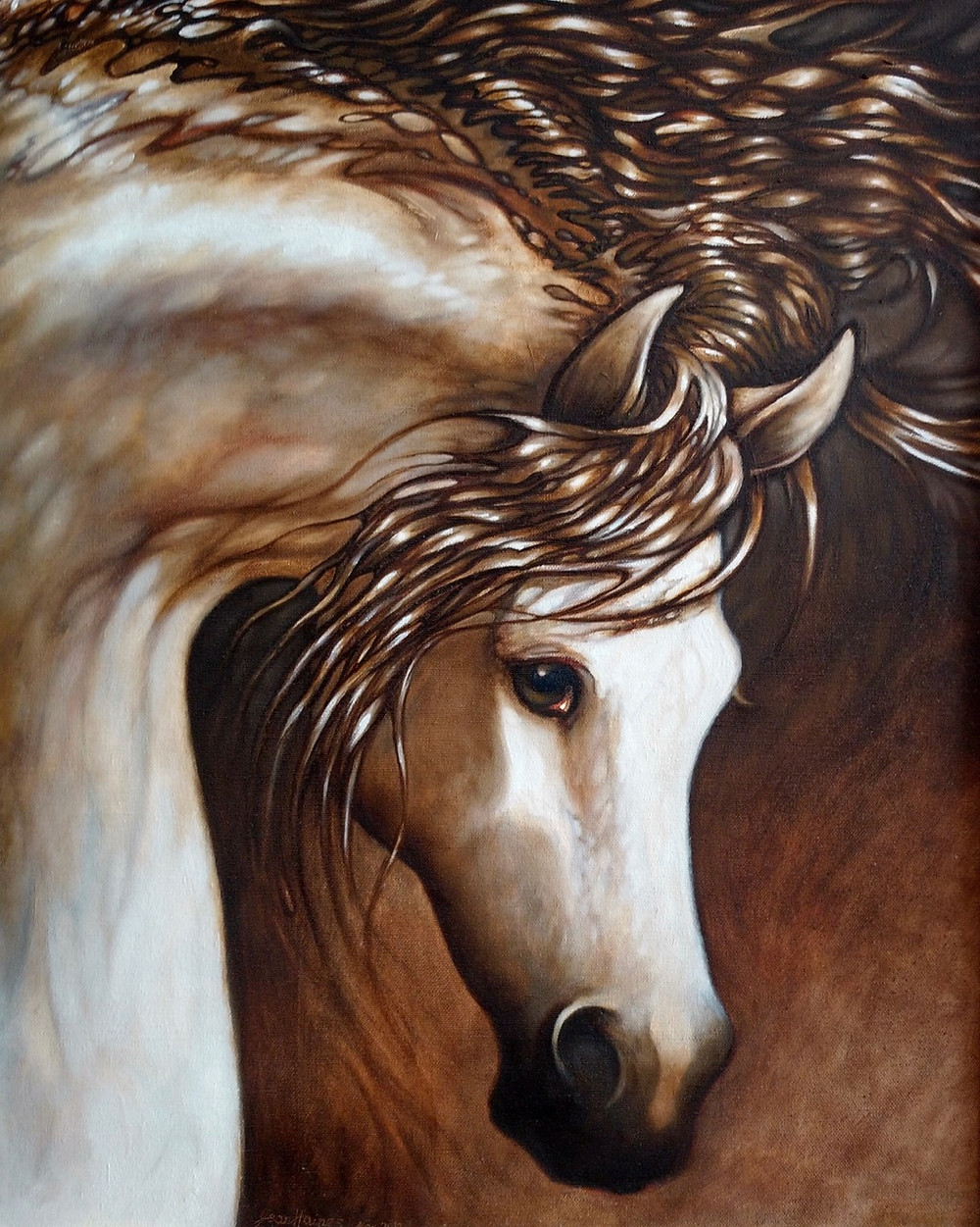 Meet artist and horse enthusiast Jean Haines