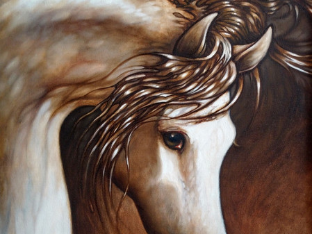 Meet horse enthusiast and artist Jean Haines
