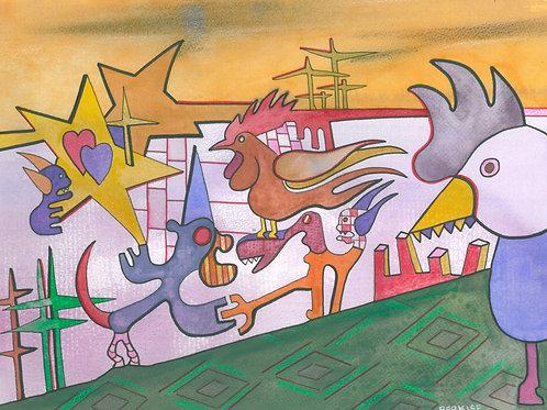 """""""Animal Farm"""" Edward Berkise"""