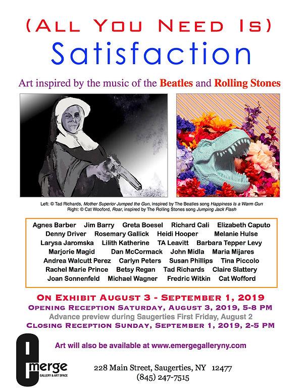 Emereg Gallery_All You Need IS Satisfact