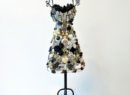 Betsy Wilson Creates Gorgeous Forms from Upcycled Vintage Jewelry