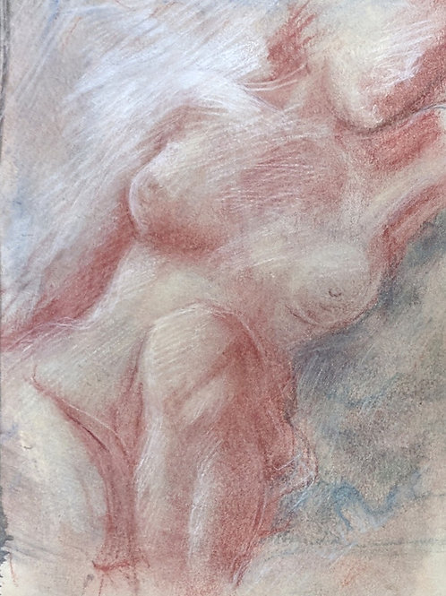 """""""Relaxed Nude"""" Loel Barr"""