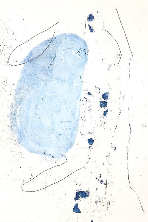"""blue+black"" Mimi Young"