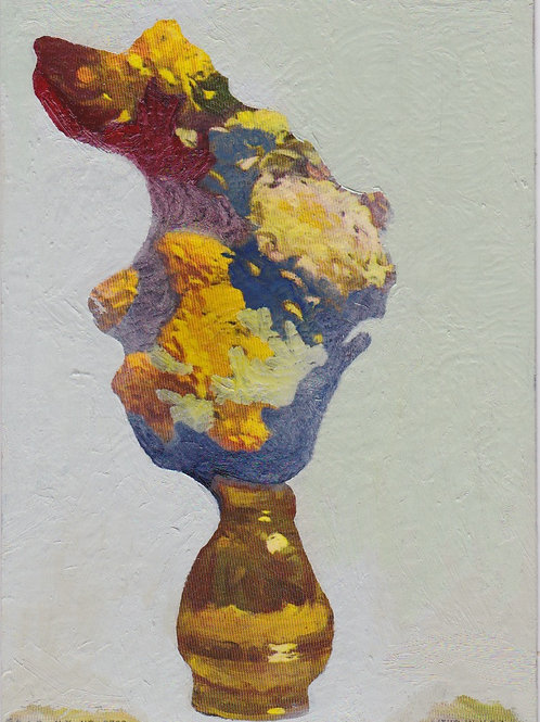 """Antique Lithograph #4"" Ana C.H. Silva"