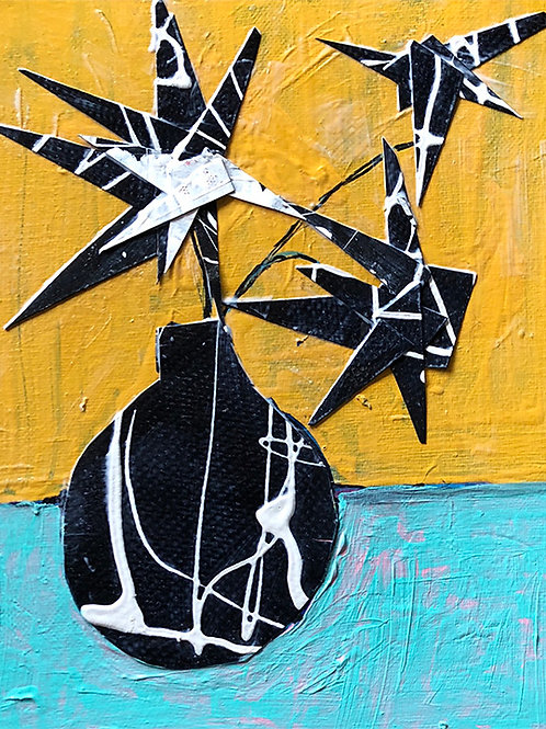 """Three Flowers"" Annette Jaret"