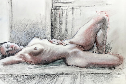 """Resting Nude"" Loel Barr"