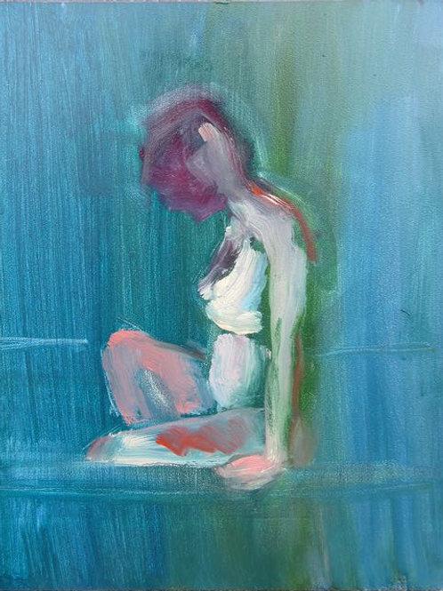 """""""In the Bath III"""" Andrea Geller"""
