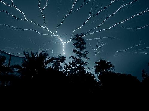 """Lightning Storm"" Edie Galindo"