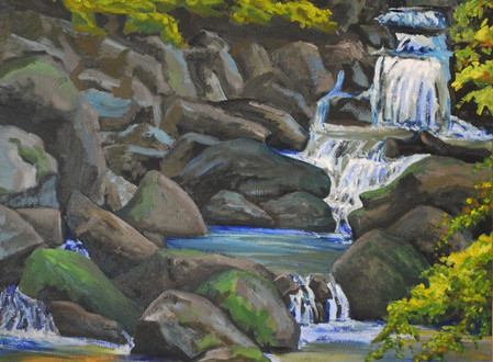 "Artsy exclusive exhibition ""Sawkill: Story of a River Through Art"" by artist Linda Lynton"