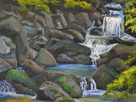 """Artsy exclusive exhibition """"Sawkill: Story of a River Through Art"""" by artist Linda Lynton"""
